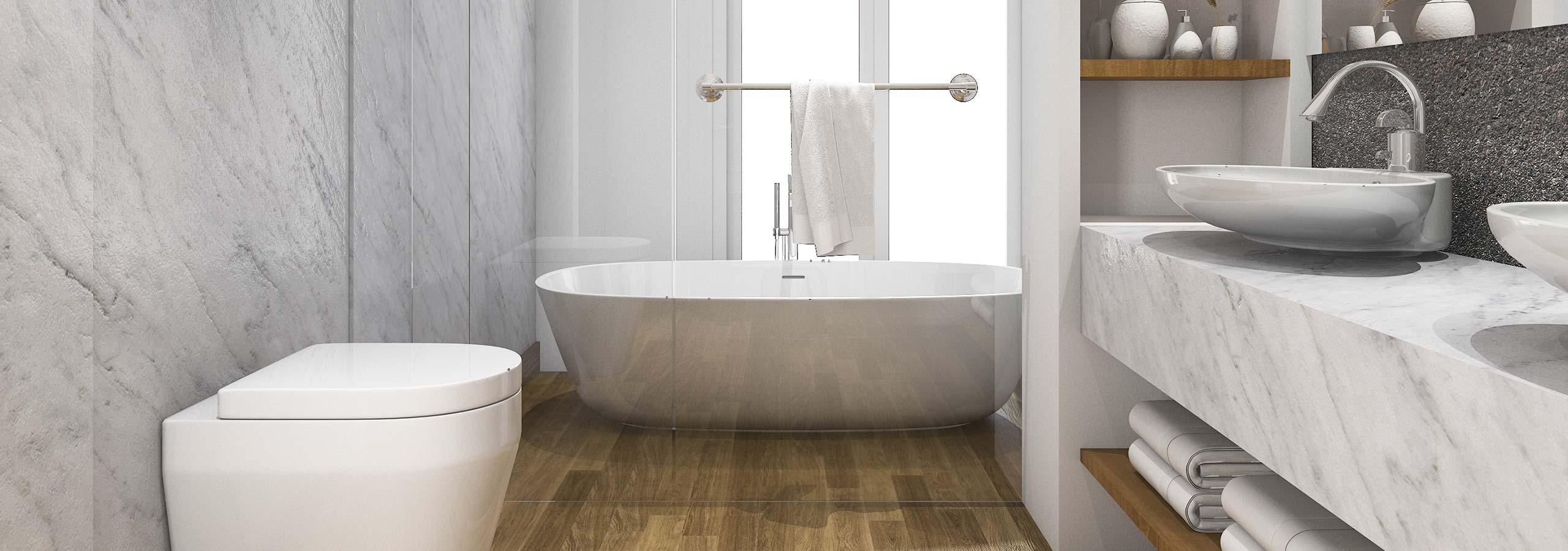 badkamer verbouwen door de installateur uit schinnen